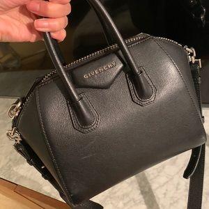 Givenchy Mini Antigona Leather Bag AUTHENTIC